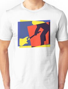 Rock Guitar Smash Unisex T-Shirt