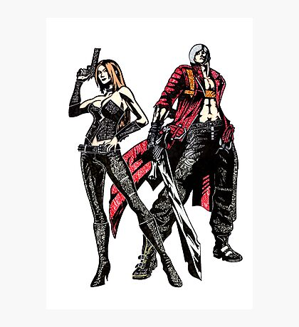 Devil May Cry Photographic Print