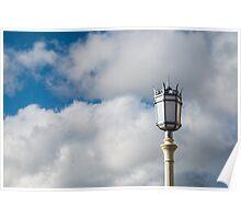 Brighton Seafront Lamp Poster
