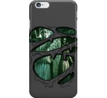Weeping Angels Torn Shirt iPhone Case/Skin