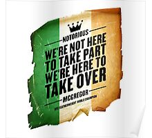 Conor McGregor - [Take Over Flag] Poster