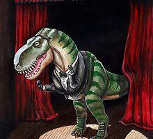 Sinatrasaurus Rex by rjdaae