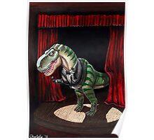 Sinatrasaurus Rex Poster