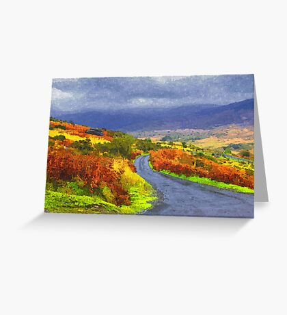 The Black Valley Greeting Card