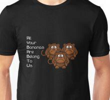 AYBABTU Monkeys Meme Unisex T-Shirt