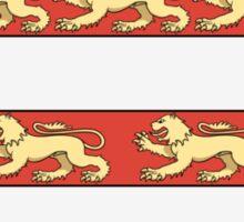 Hungarian Kings (1000-1301) & Seal of King Emeric (1202) Sticker