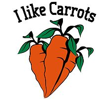 Vegetables I like carrots organic garden by Motiv-Lady