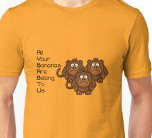 AYBABTU Monkeys Meme 2 Unisex T-Shirt
