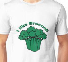 Vegetables I like broccoli nature garden Unisex T-Shirt