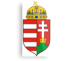 Medieval Coat of Arms of Hungary  Metal Print