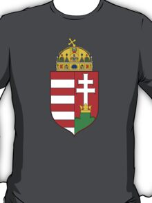 Medieval Coat of Arms of Hungary  T-Shirt