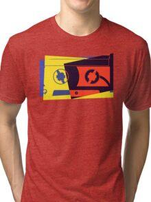 Pop Art Cassette Tape Tri-blend T-Shirt