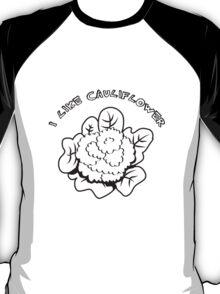 Vegetables I like cauliflower nature garden T-Shirt