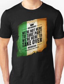 Conor McGregor - [Take Over Flag] T-Shirt