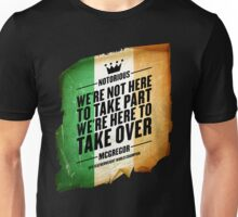 Conor McGregor - [Take Over Flag] Unisex T-Shirt