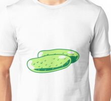 Vegetables cucumber nature garden Unisex T-Shirt