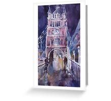 Tower Bridge - London Art Gallery Greeting Card
