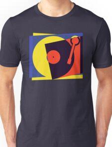 Pop Art Turntable Unisex T-Shirt