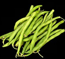 Green beans by crspix