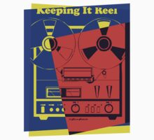 Pop Art Reel To Reel by retrorebirth