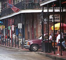 New Orleans Street Scene by Frank Romeo