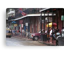 New Orleans Street Scene Canvas Print