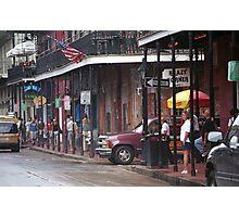 New Orleans Street Scene Photographic Print
