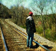 Standing on the tracks  by Scott Mitchell