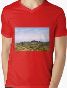 Sithonia Halkidiki Greece landscape Mens V-Neck T-Shirt