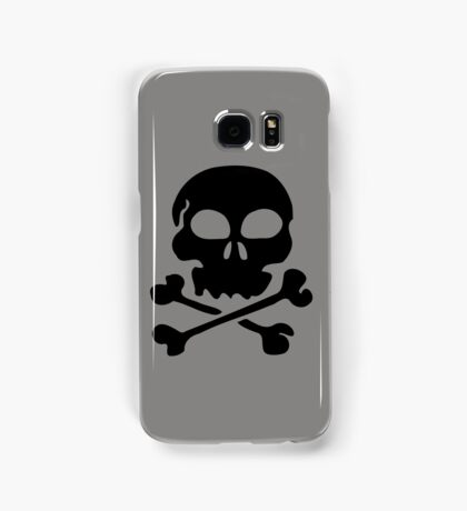SKULL AND CROSSBONES by Zombie Ghetto Samsung Galaxy Case/Skin