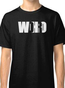 WDHRO (DR WHO, White) Classic T-Shirt