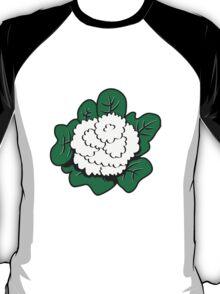 Vegetables cauliflower nature garden T-Shirt