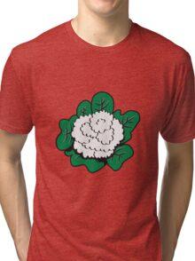 Vegetables cauliflower nature garden Tri-blend T-Shirt