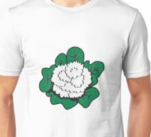 Vegetables cauliflower nature garden Unisex T-Shirt