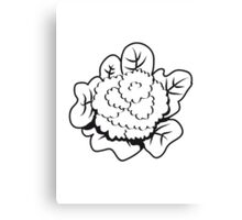 Vegetables cauliflower nature garden Canvas Print
