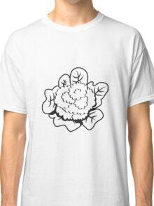 Vegetables cauliflower nature garden Classic T-Shirt