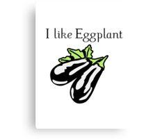 Vegetables Eggplant nature garden Canvas Print