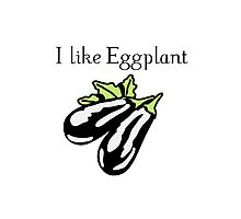 Vegetables Eggplant nature garden Photographic Print