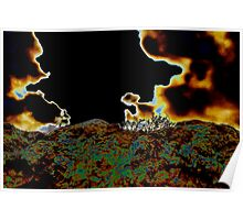A Stormy Night on the Planet Zorg Poster