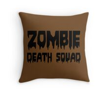 ZOMBIE DEATH SQUAD by Zombie Ghetto Throw Pillow