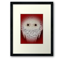 Ghost Eyes Framed Print