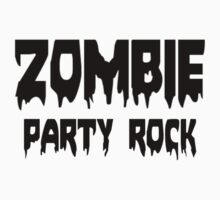 ZOMBIE PARTY ROCK by Zombie Ghetto Kids Tee
