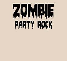 ZOMBIE PARTY ROCK by Zombie Ghetto Womens Fitted T-Shirt