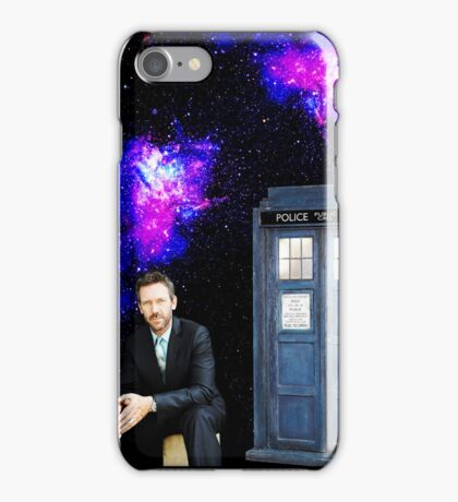 Hugh Laurie as The Doctor iPhone Case/Skin
