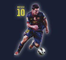 Lionel Messi Barcelona by erFreddo
