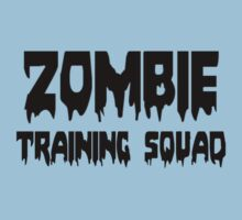 ZOMBIE TRAINING SQUAD by Zombie Ghetto Kids Tee