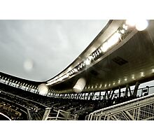 Stadium - Light Rain Photographic Print