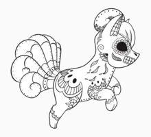 Vulpix de los Muertos | Pokemon & Day of The Dead Mashup T-Shirt
