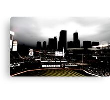 Stadium - Back Light Canvas Print