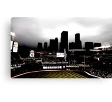 Stadium - Back Light Canvas Print